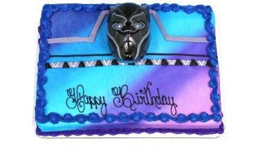 Kids Black Panther Cake