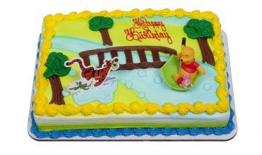 Pooh Piglet Tigger Cake