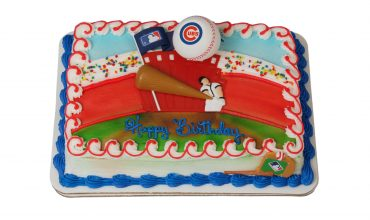 Chicago Cubs Kids Cake