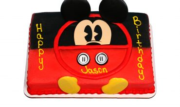 Kids Mickey Mouse Cake