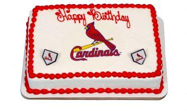 Kids Cardinals Cake