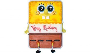 Kids Sponge Bob Cake