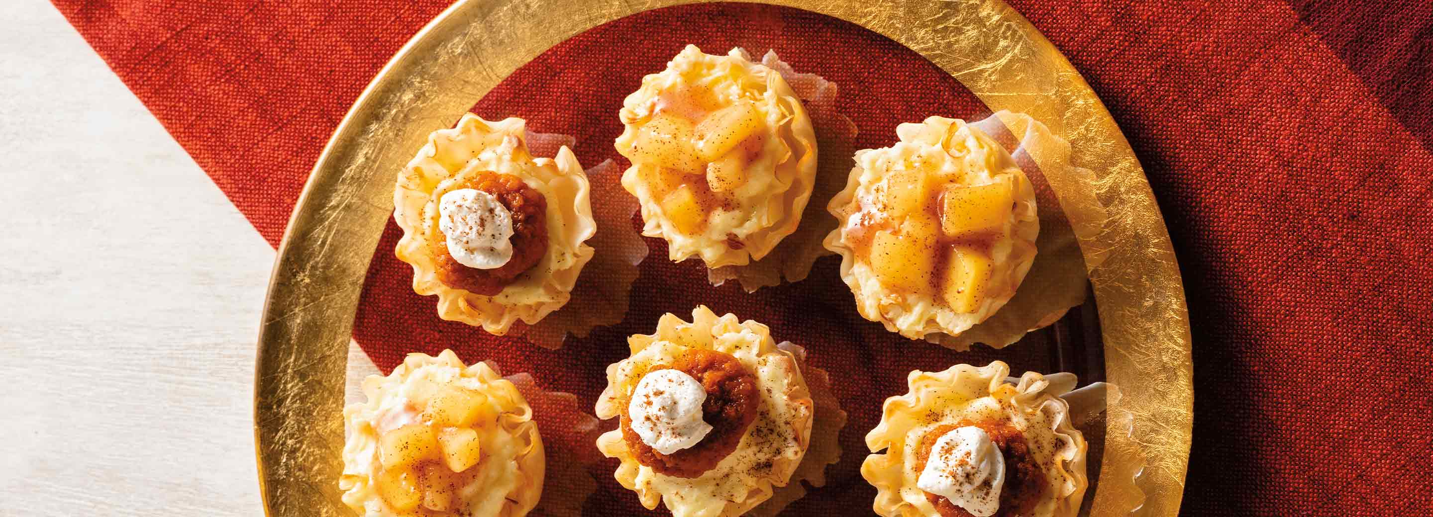 Harvest Apple Cheesecake Cups