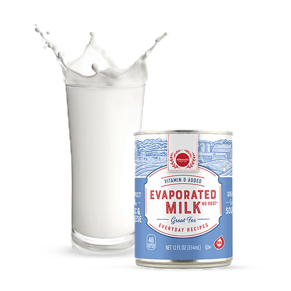 Schnucks Ingredient Swap - Light Cream for Evaporated Milk