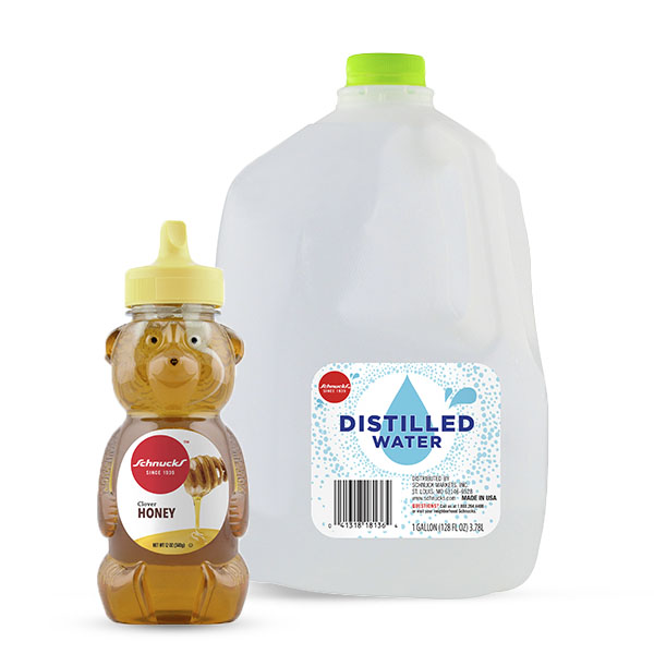 Schnucks Ingredient Swap - Sugar + Water for Honey