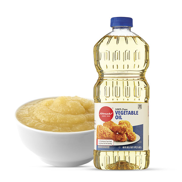 Schnucks Ingredient Swap - Applesauce For Vegetable Oil
