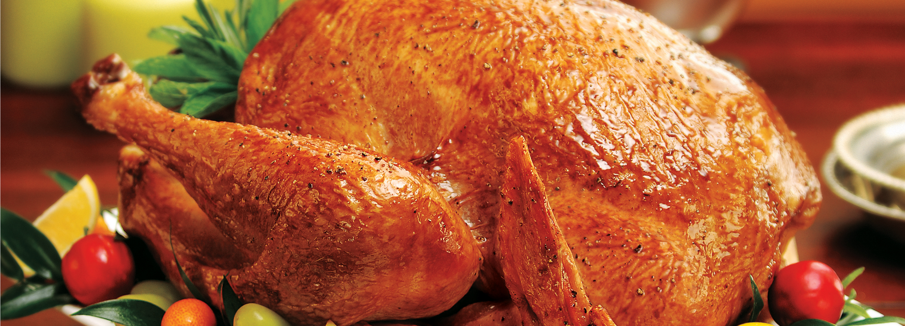 Roasted Garlic and Herb Turkey