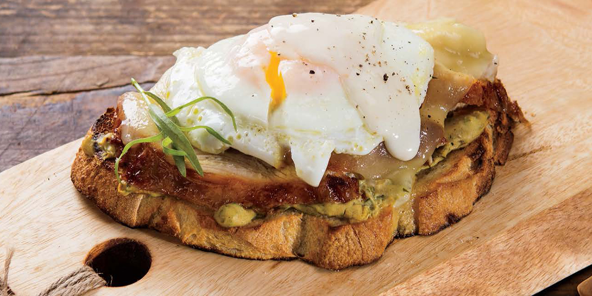 Turkey Croque Madame