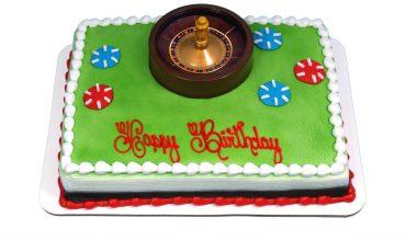 Rapid Roulette Custom Cake
