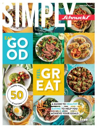 Simply Schnucks Eat Good To Feel Great Cover