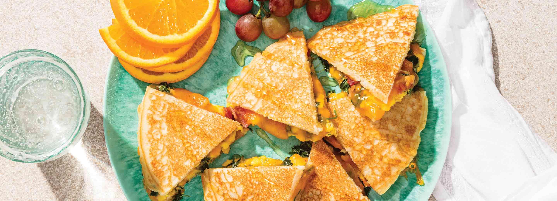 Two-in-One Breakfast Quesadilla