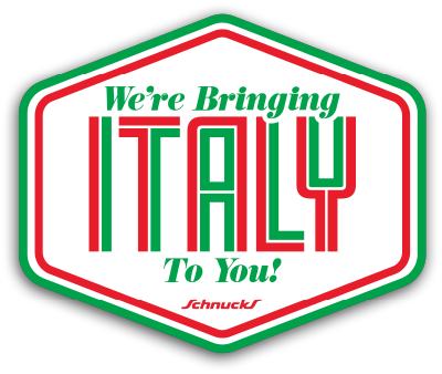 We're Bringing Italy To You!