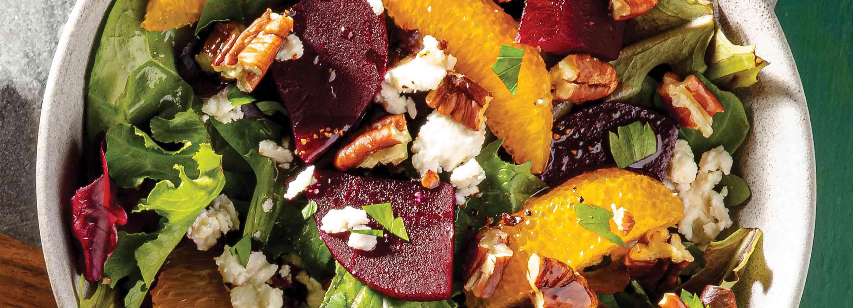 Simple Citrus & Beet Salad