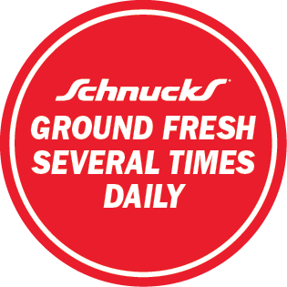 Ground Fresh Several Times Daily